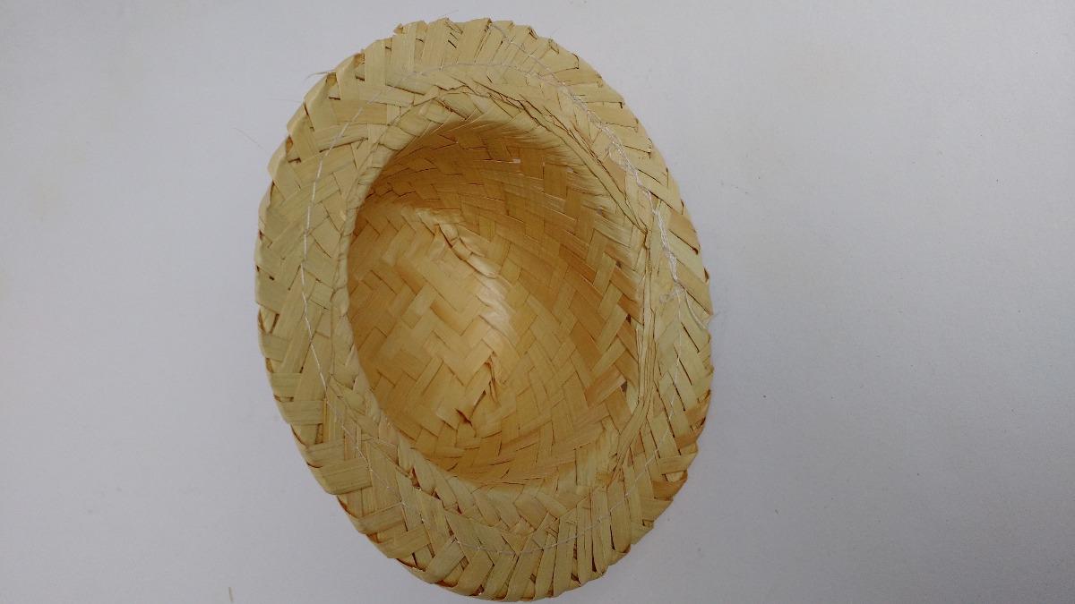 chapéu de palha boneca festa junina kit 50 unidades. Carregando zoom. 323a899fa6a