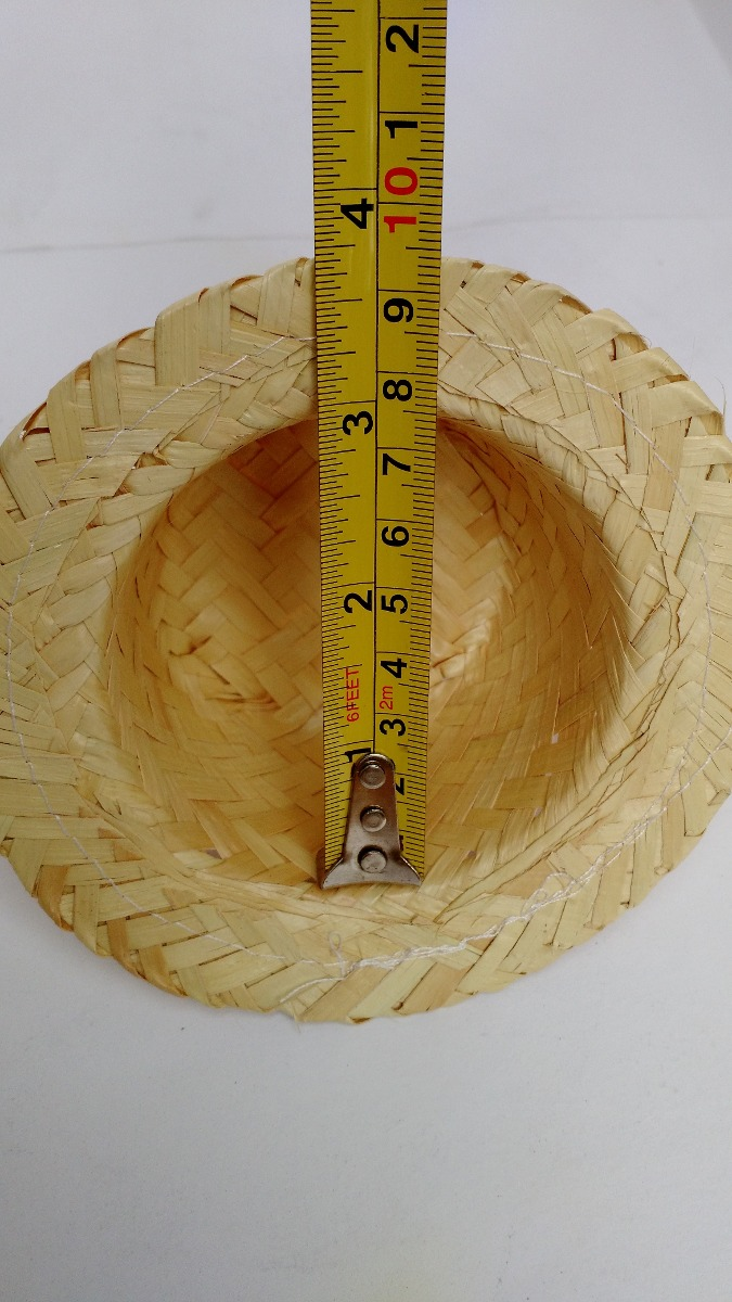 chapéu de palha boneca festa junina kit 50 unidades. Carregando zoom. 34b5472b28e
