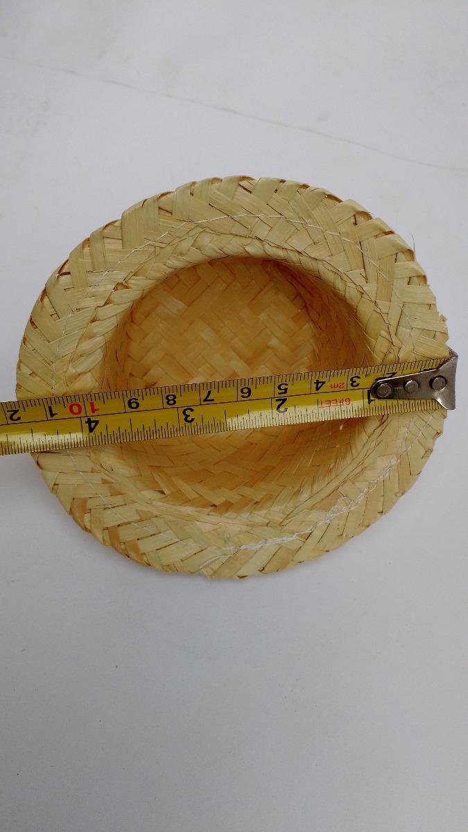 3fb6f82fdcfb5 chapéu de palha boneca festa junina kit 50 unidades. Carregando zoom.