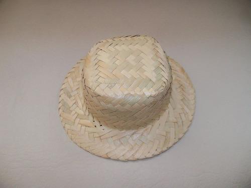 Chapéu De Palha Boneca Lembrancinha Junina Kit Com 200 Peças - R ... 9f132c3b272
