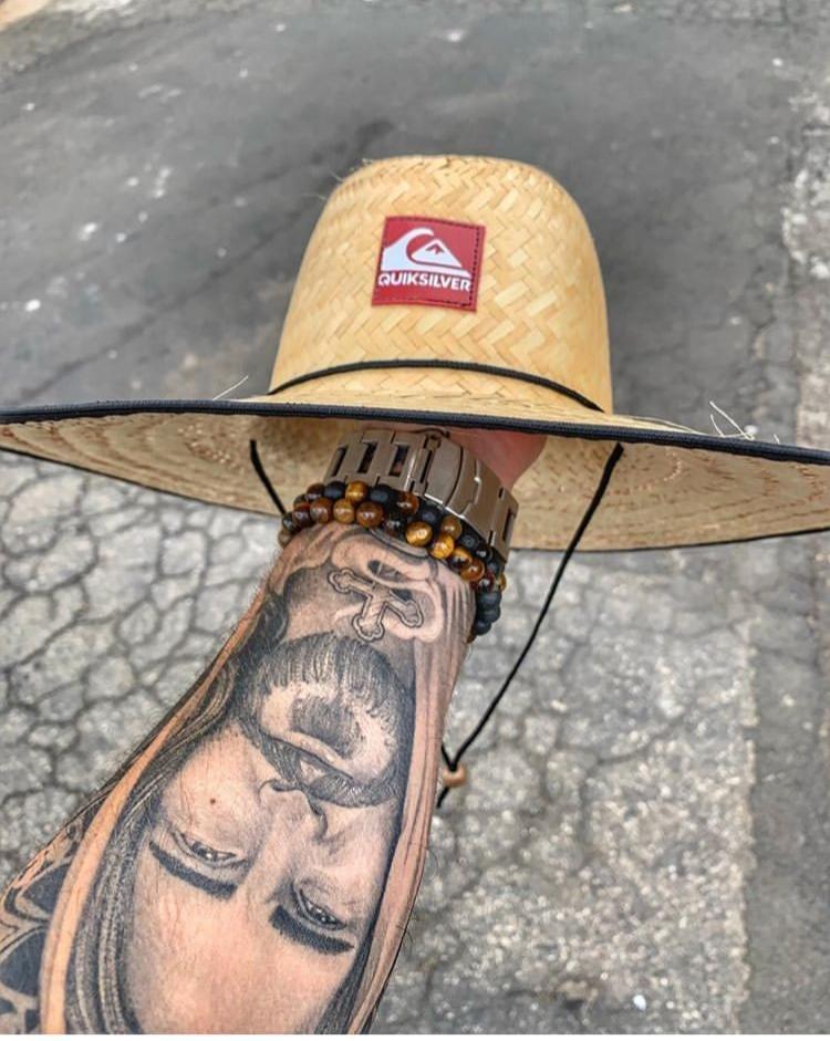 Chapéu De Palha Estampados Quiksilver Praia Unissex Verão - R  44 c310b2cb143