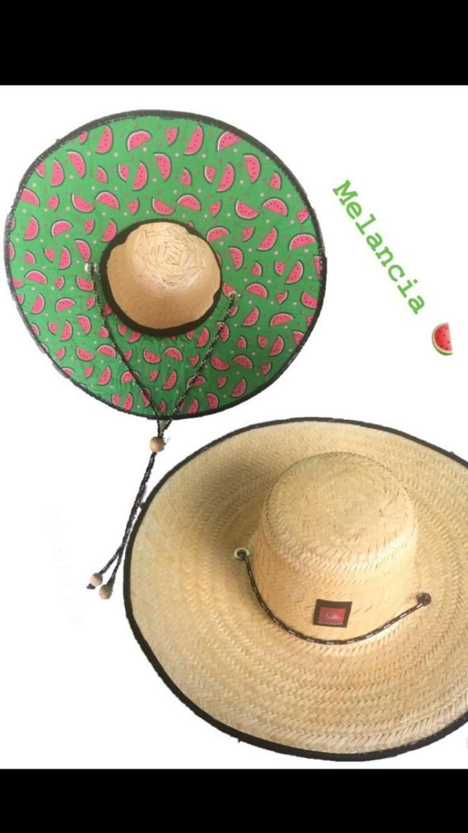Chapéu De Palha Estilo Surf Com Estampa - R  45 0a055b67a0b