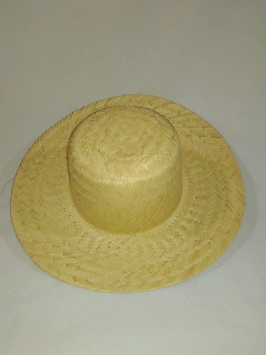 815345296bd7a chapéu de palha festa junina 33cm aprox 35 unidades. Carregando zoom.