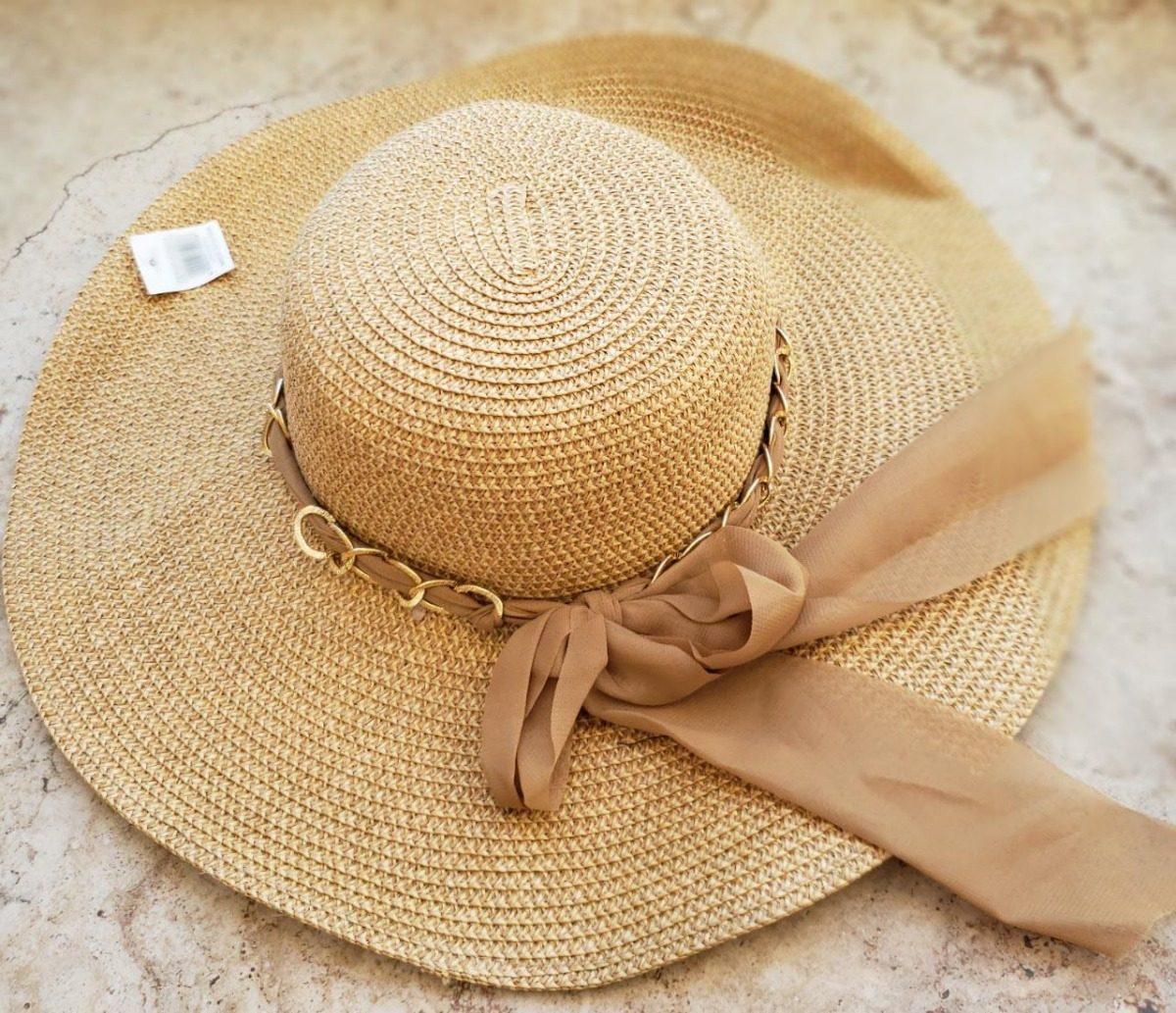b0499397d4 chapéu de palha praia feminino. Carregando zoom.