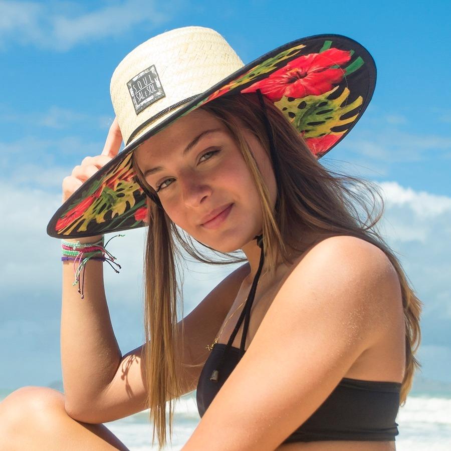 a9da6ef15408f Chapéu De Palha Praia Soul Sal E Sol - Anuncio Sem Frete! - R  139 ...