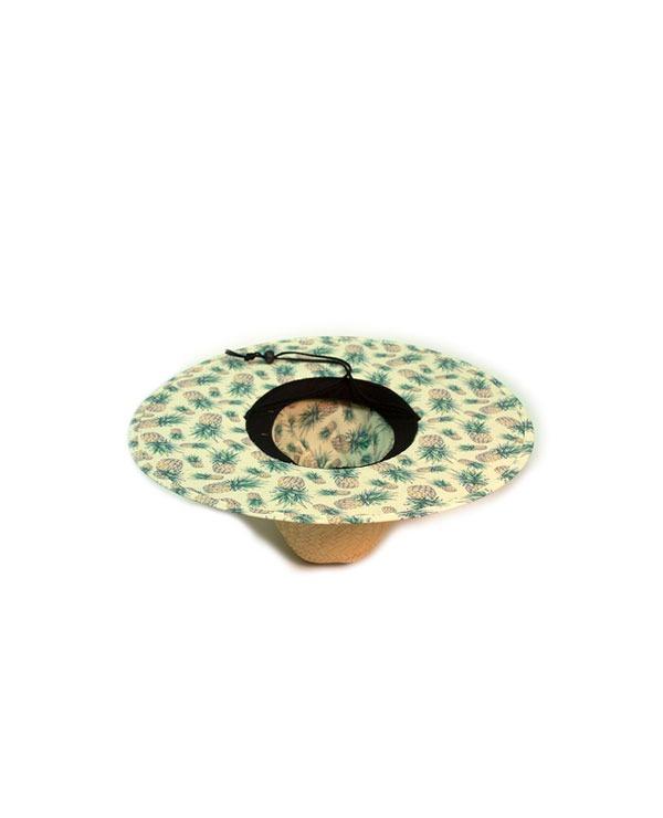 Chapéu De Palha Project Abacaxi - Palha floral - R  149 66f3628d335