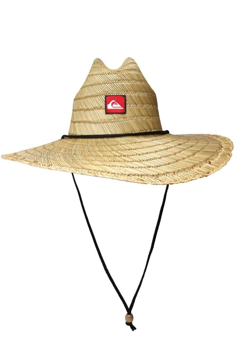 Chapéu De Palha Quiksilver Pierside - R  259 fad2fcfff11