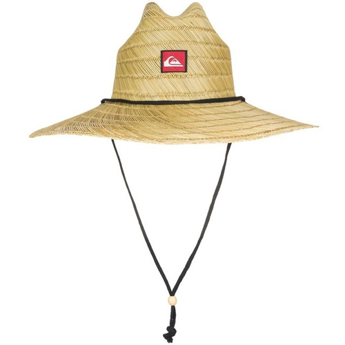 chapéu de palha quiksilver pierside pronta entrega! + nf