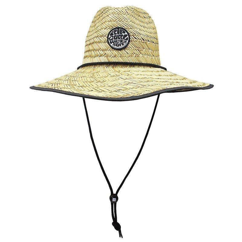 1fddb15f4df Chapéu De Palha Rip Curl Wetty Straw Hat Black Original + Nf - R ...