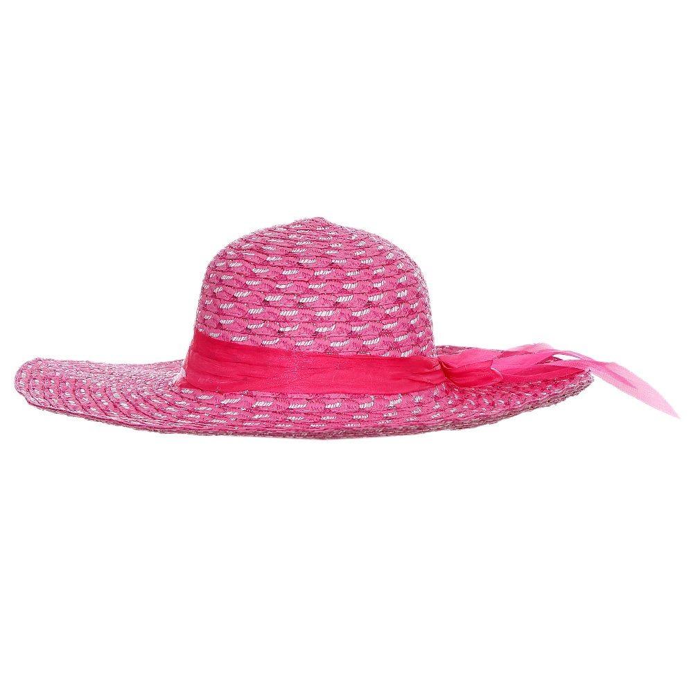 chapéu de praia floppy branco com laço. Carregando zoom. 5f0fec0156a