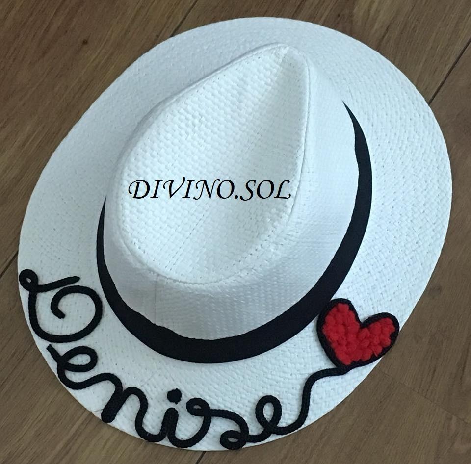chapéu de praia panama personalizado masculino feminino. Carregando zoom. f086c0c1a17