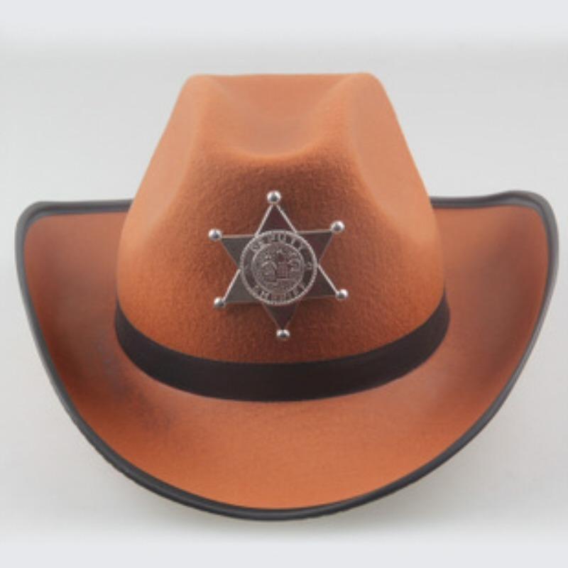 chapéu de xerife cowboy. Carregando zoom. ff8ae058c58