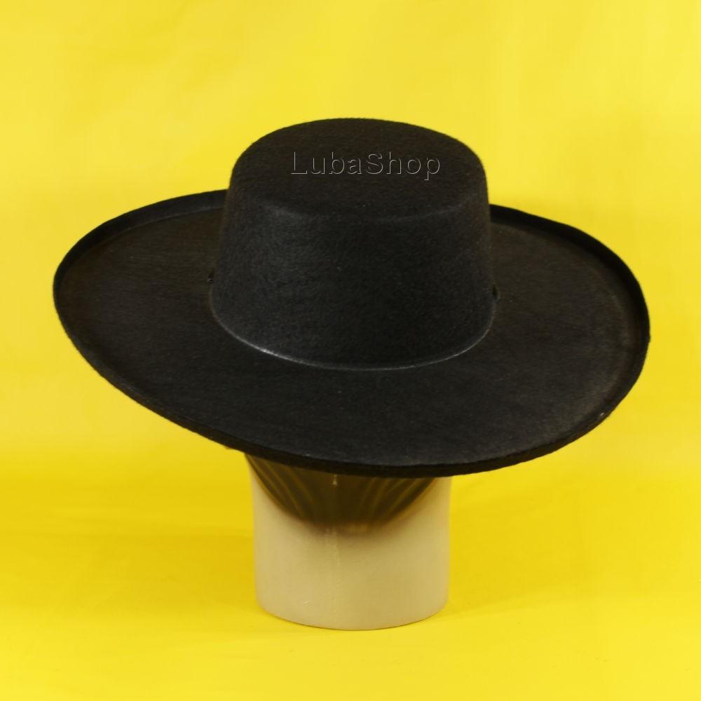 2c79d2f094eda Chapéu Do Zorro Adulto   Chapéu Fantasia De Zorro Adulto - R  35