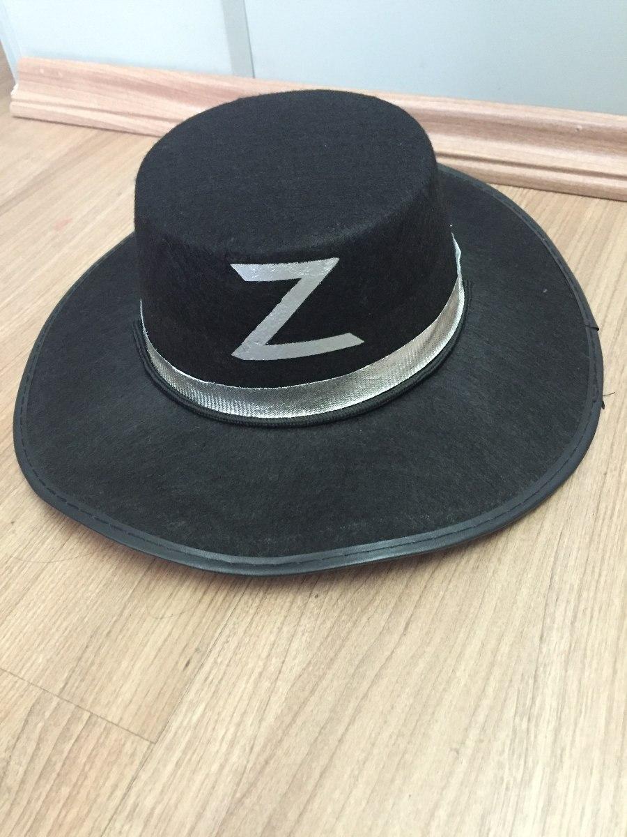 chapéu do zorro feltro. Carregando zoom. b330a49821d