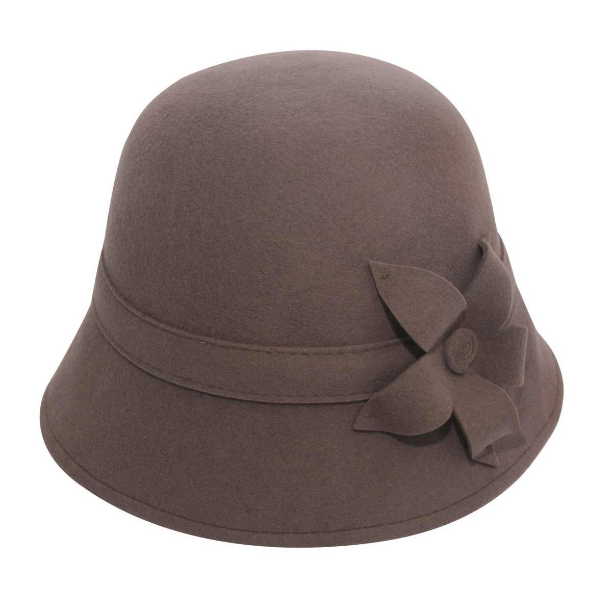 Chapéu Donna Jolie -castor-tamanho 54 - R  164 4e83984324f