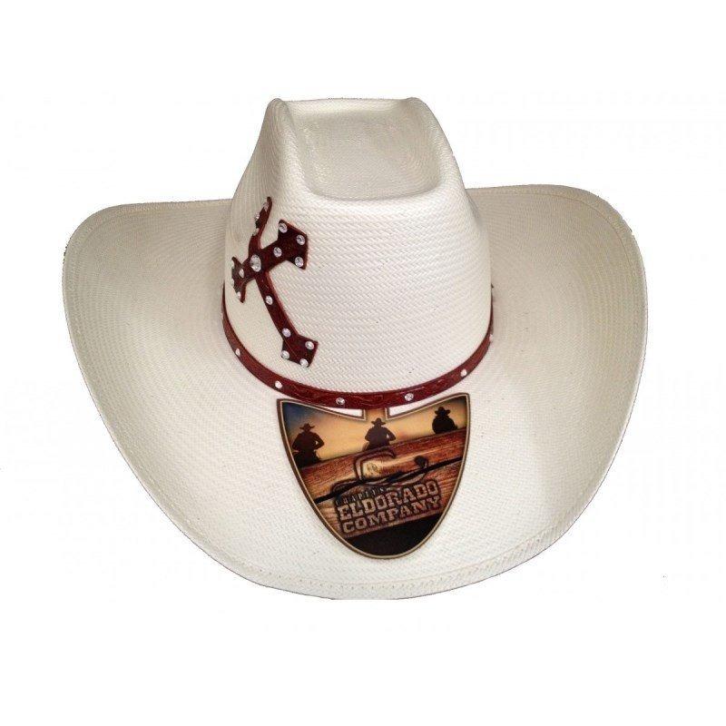 chapéu eldorado 20x faith western cruz ec822. Carregando zoom. e89cf3aec17