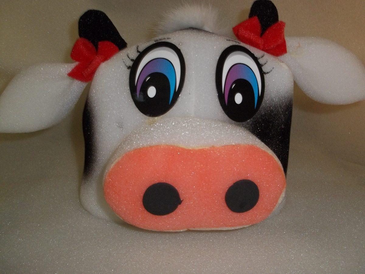 chapeu em espuma boi ou vaca. Carregando zoom. c720048c54d