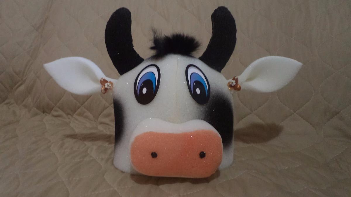chapéu espuma boi ou vaca. Carregando zoom. 88db8ec08b4