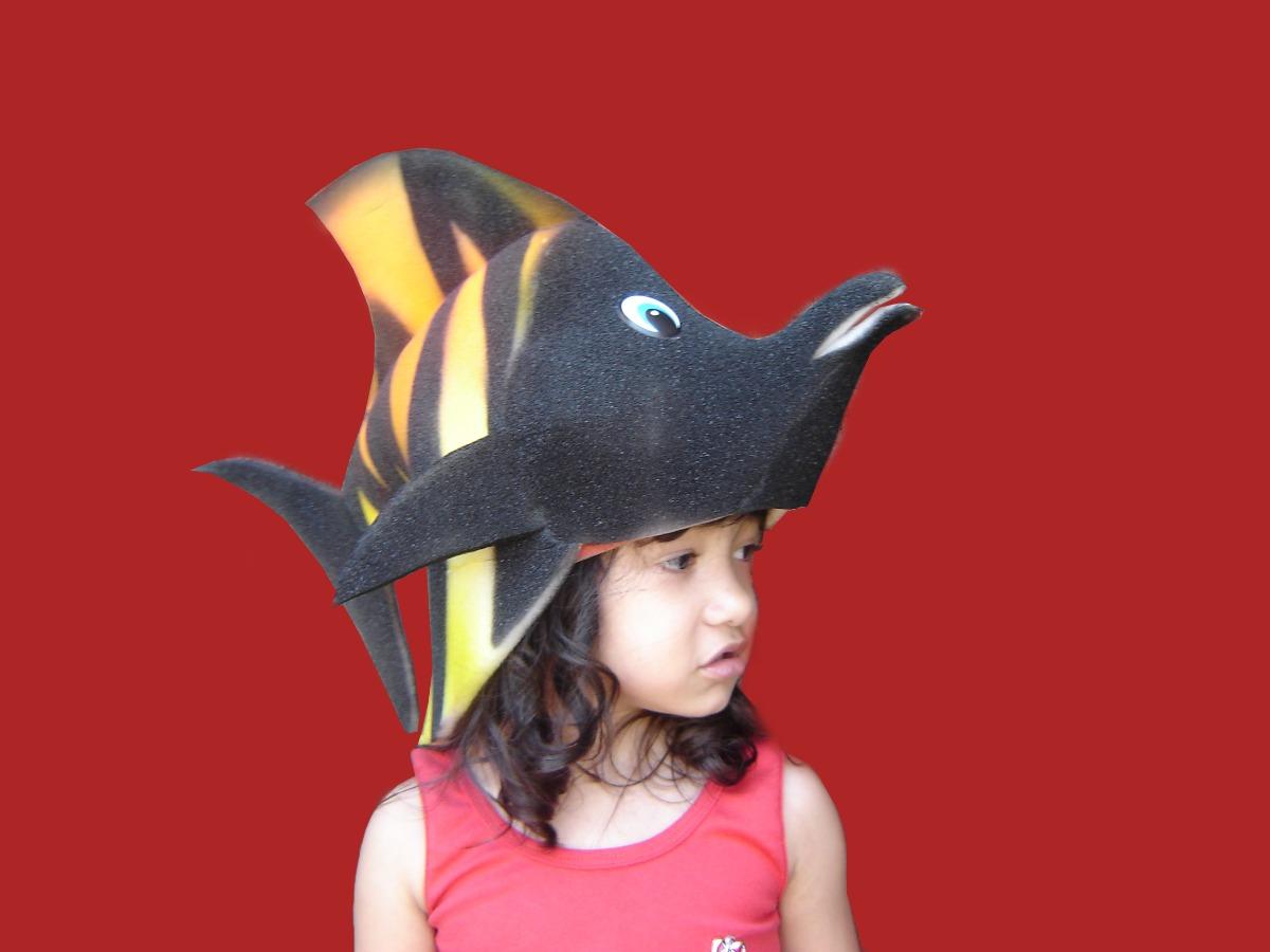 chapéu espuma peixe. Carregando zoom. 9d237fbb759