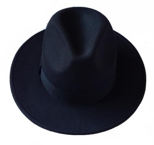 chapéu estilo fedora panamá preto masculino feminino moda