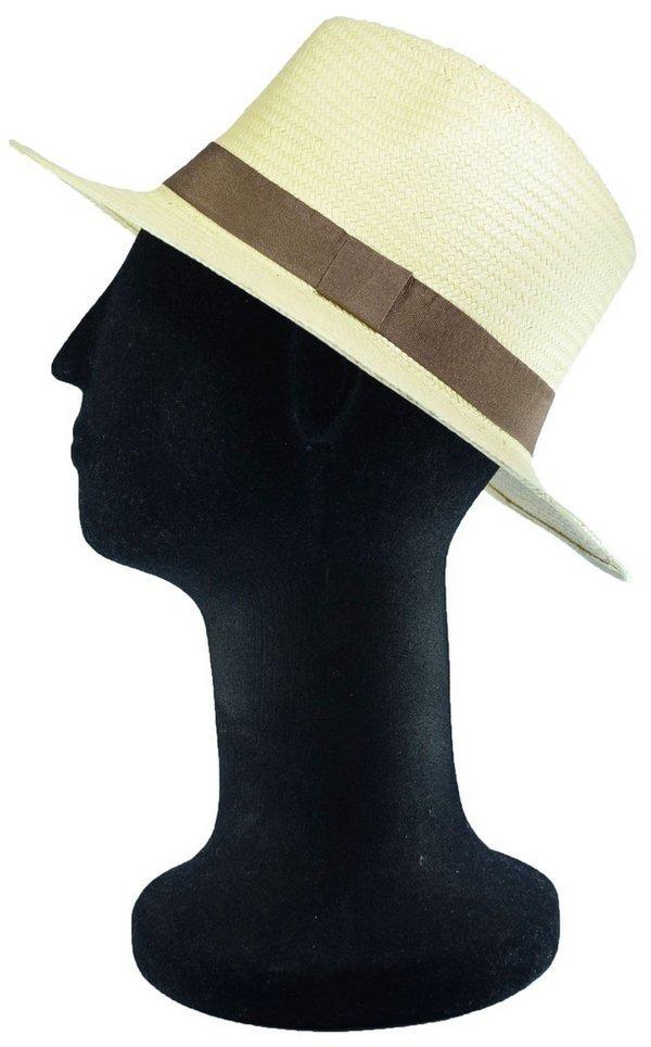 212c324ebecfe chapéu estilo panamá bege classico feminino masculino top. Carregando zoom.