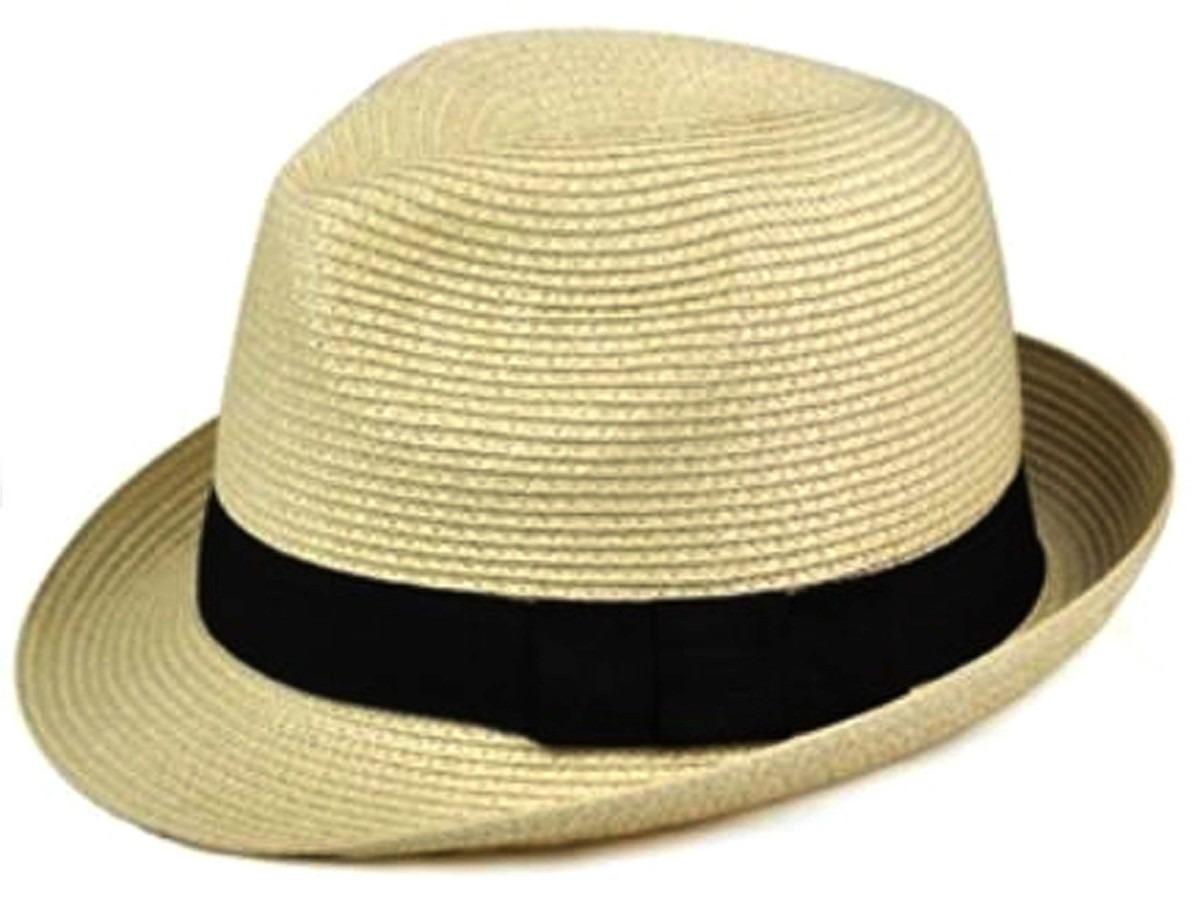 chapéu estilo panamá modelo clássico casual praia (unissex ). Carregando  zoom. a1327926731