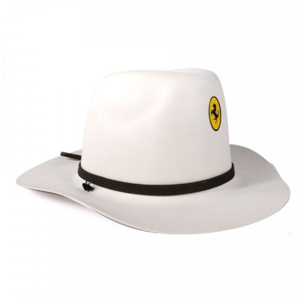 Chapeu Eva Cowboy Infantil Branco Fantasia - R  6,50 em Mercado Livre 1f7151d813