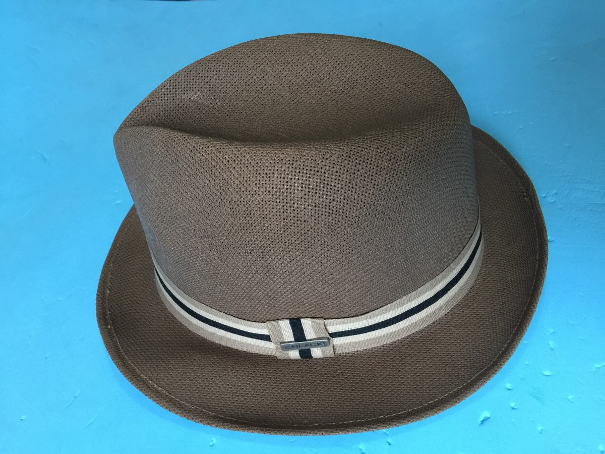 44648779b1974 chapéu fedora aba curta masculino black inc. Carregando zoom.