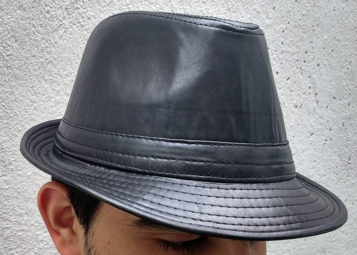6996934ebb chapéu fedora couro preto tomflex importado panamá premium. Carregando zoom.