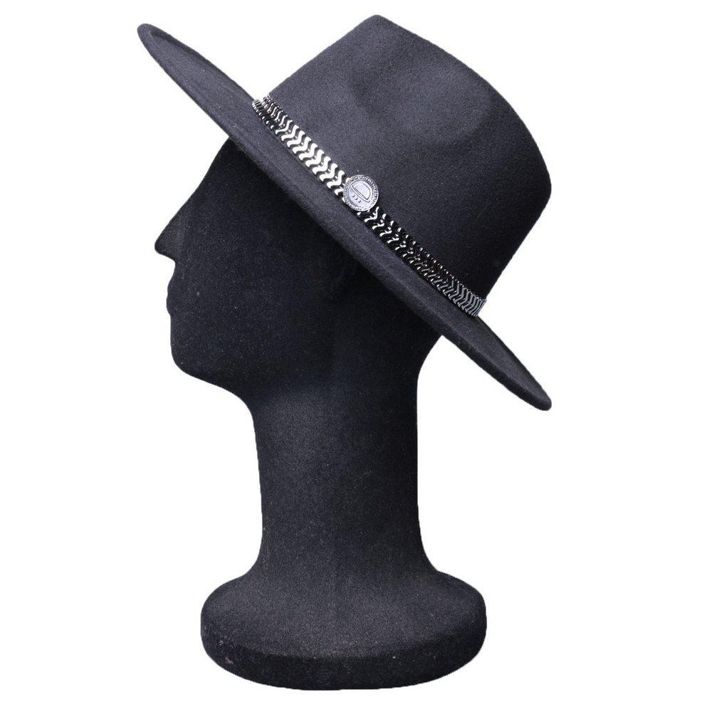 45796b1d67434 chapéu fedora exclusivo grafite edição limitada feminino. Carregando zoom.