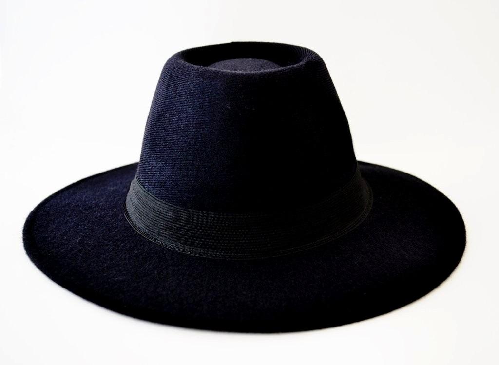 72cb9cd52158f chapéu fedora feltro poliester aba media unissex. Carregando zoom.
