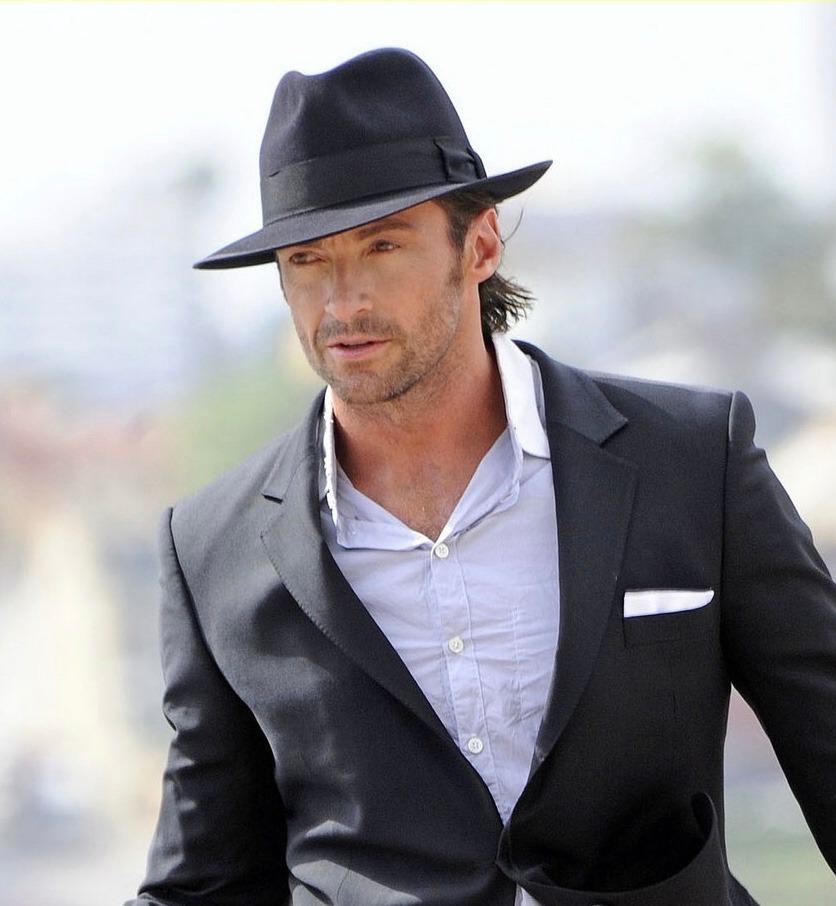 4a48839968602 chapéu fedora gangster aba larga feminino masculino preto. Carregando zoom.