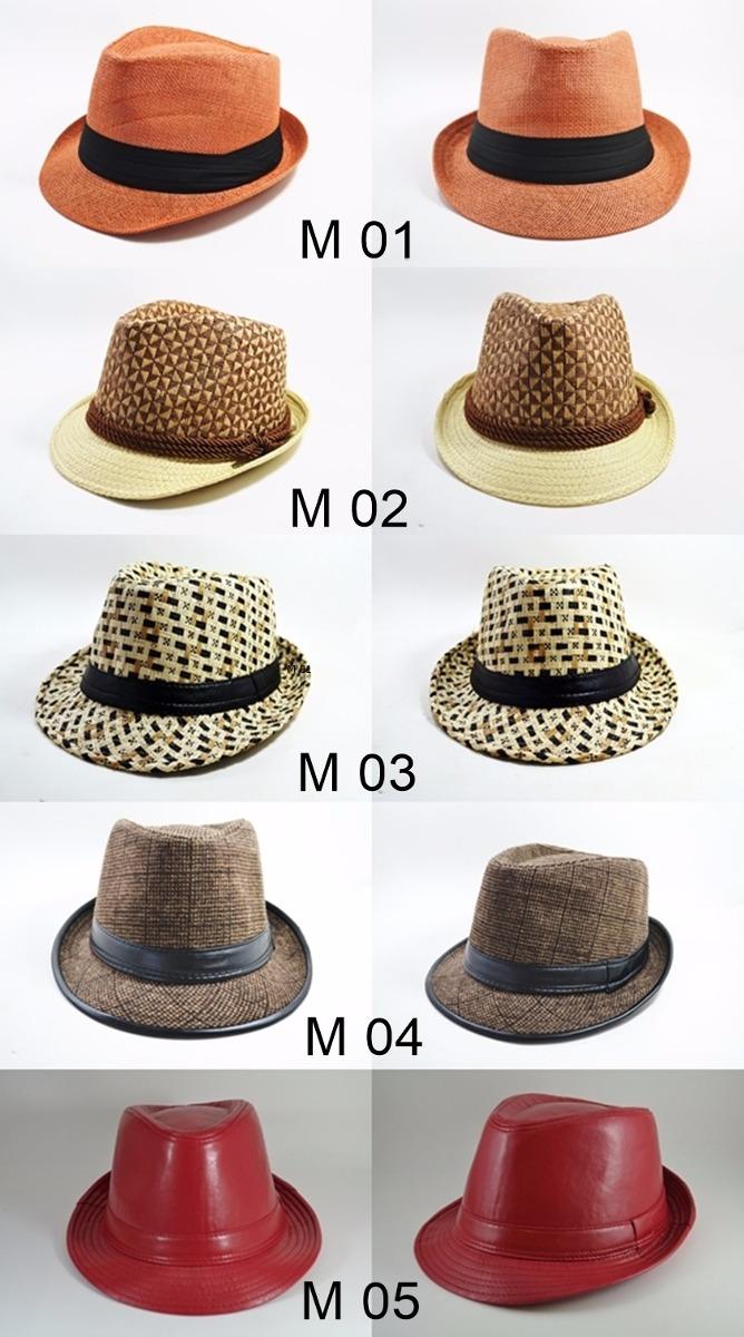 Chapéu Fedora Masculino E Feminino -vários Modelos Novidade! - R  55 ... 7df523edaa1