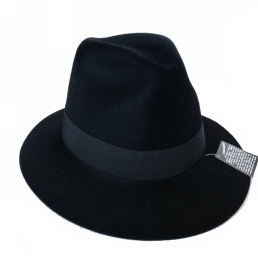 Chapéu Fedora Masculino Preto Moda Panamá Clássico Aba Média - R  69 ... d903bc722d4