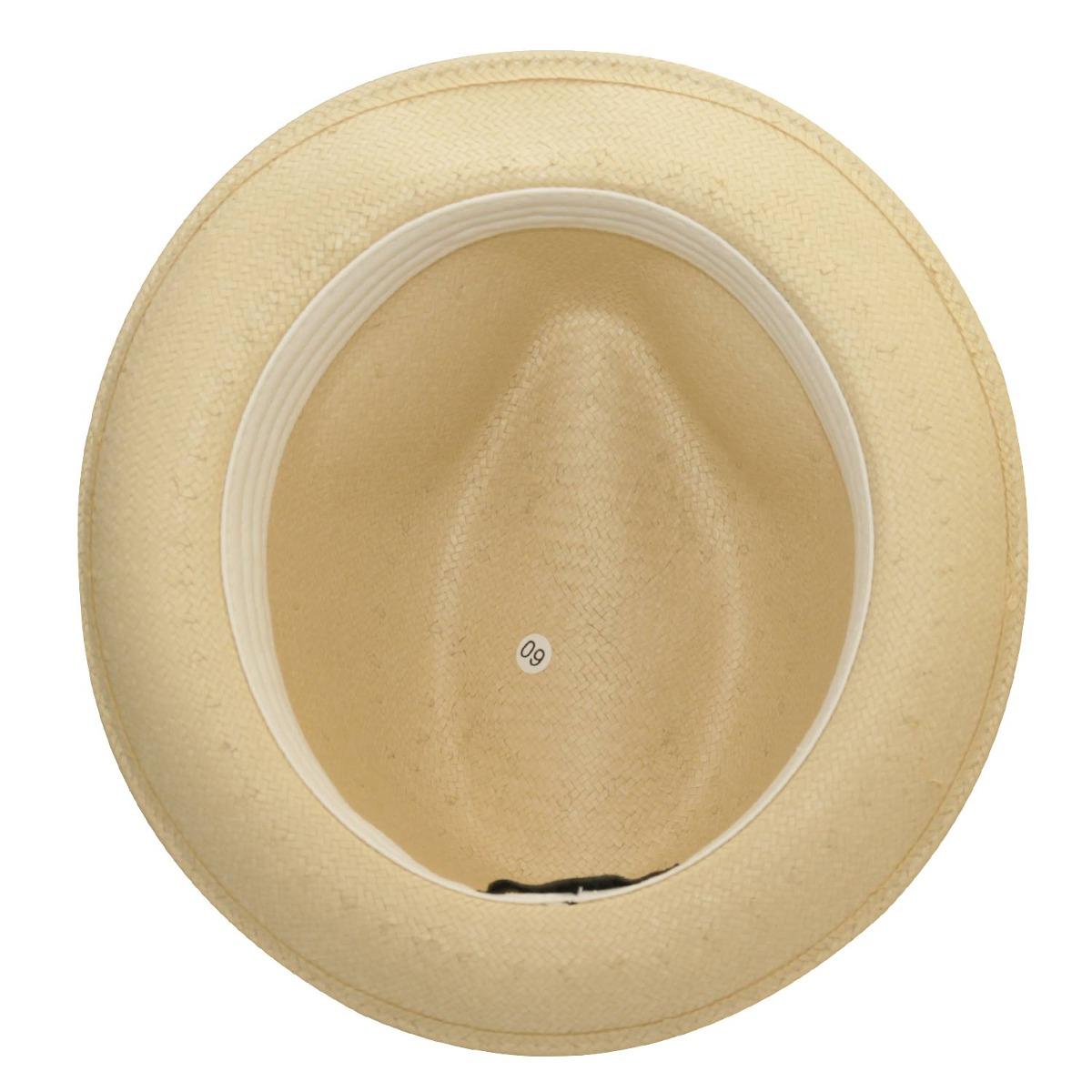 2da05676a16f2 chapéu fedora palha aba curta marcatto-bege-tam 54. Carregando zoom.