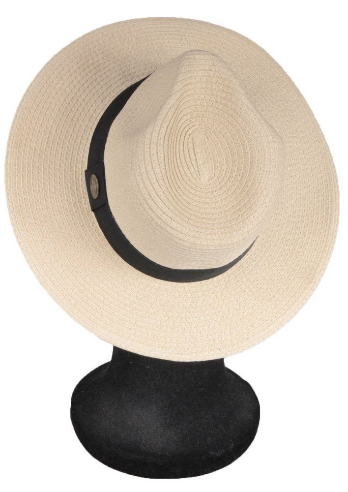 chapéu fedora palha bege aba 7 cm masculino feminino. Carregando zoom. 5b894bd1c1c