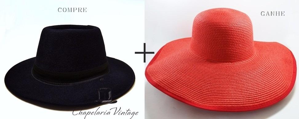 chapéu fedora preto feminino masculino+floppy praia vermelho. Carregando  zoom. 7b8e188eedf