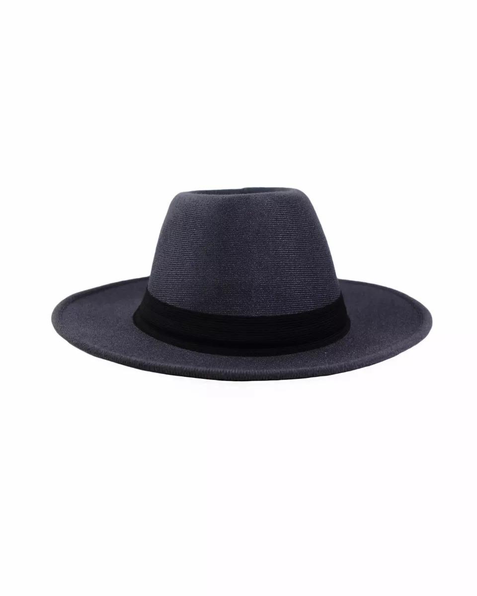 981de55d4e chapéu fedora social preto masculino feminino aba longa. Carregando zoom.