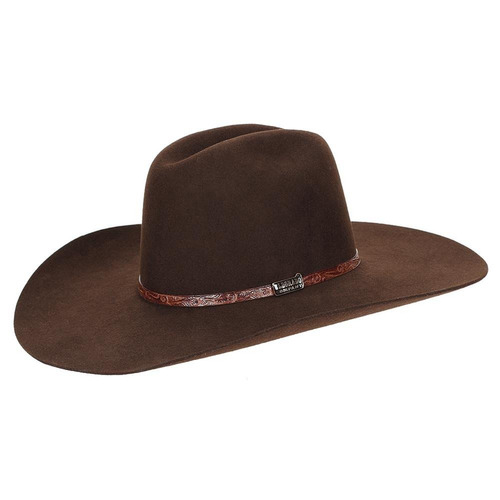 chapéu feltro marrom x-treme rodeo - eldorado company 10052