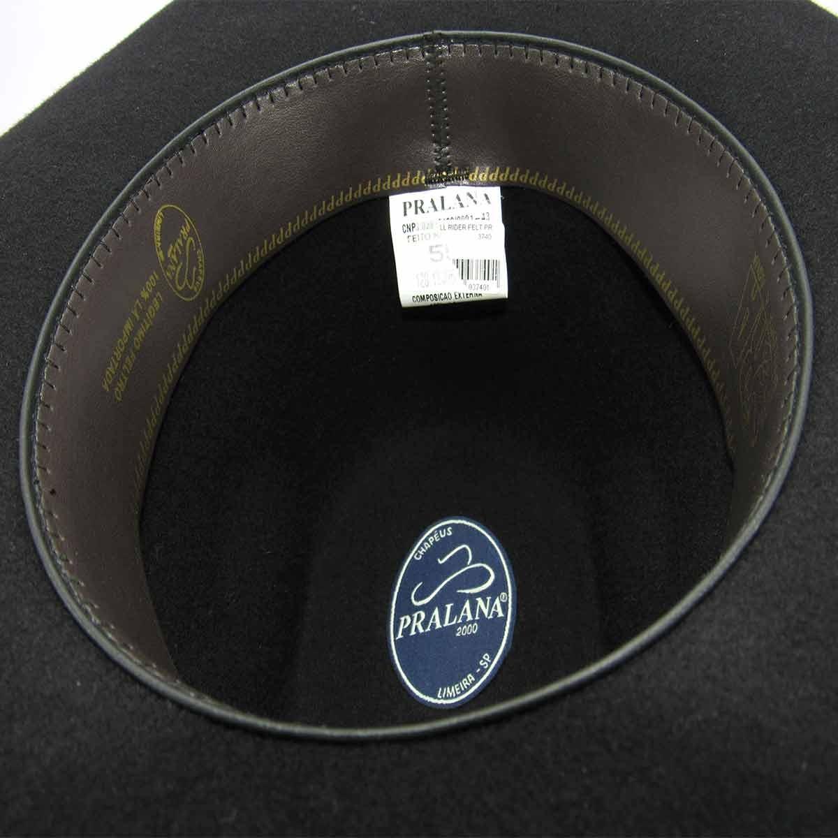chapéu feltro preto pralana bull rider -12405. Carregando zoom. 06878c859a0