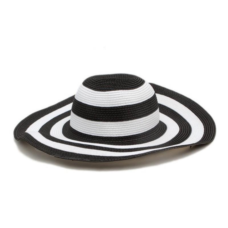 1a9125db09503 chapeu feminina floppy listrado aba larga passei estilo. Carregando zoom.