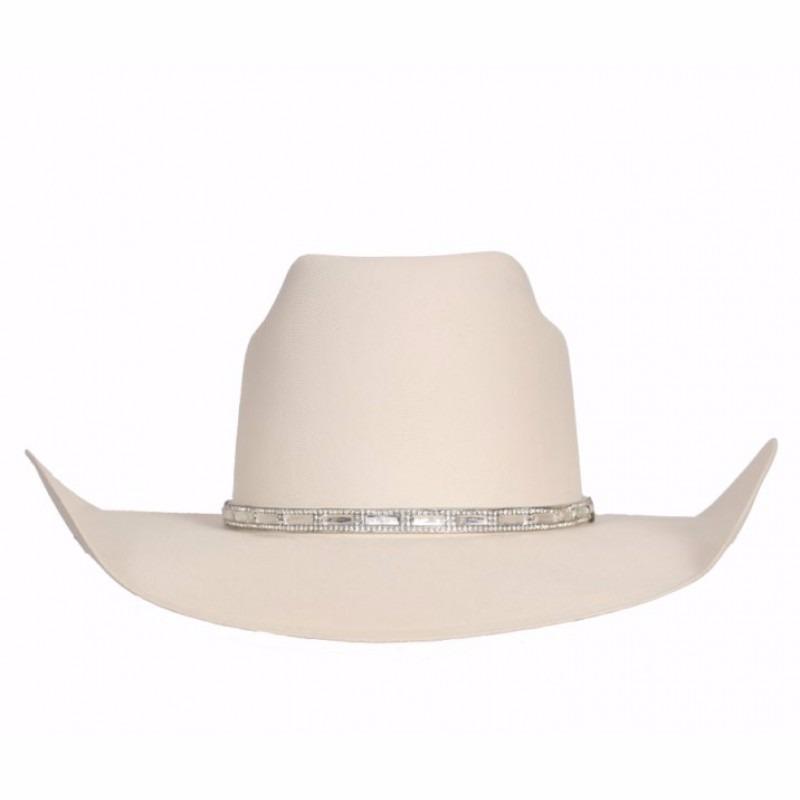 2ddc8bfb71 chapéu feminino branco com strass dallas copa diamante. Carregando zoom.