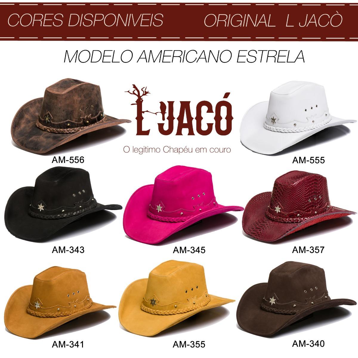 bffd09619225a chapeu feminino em couro legitimo moda festa country marrom. Carregando  zoom.