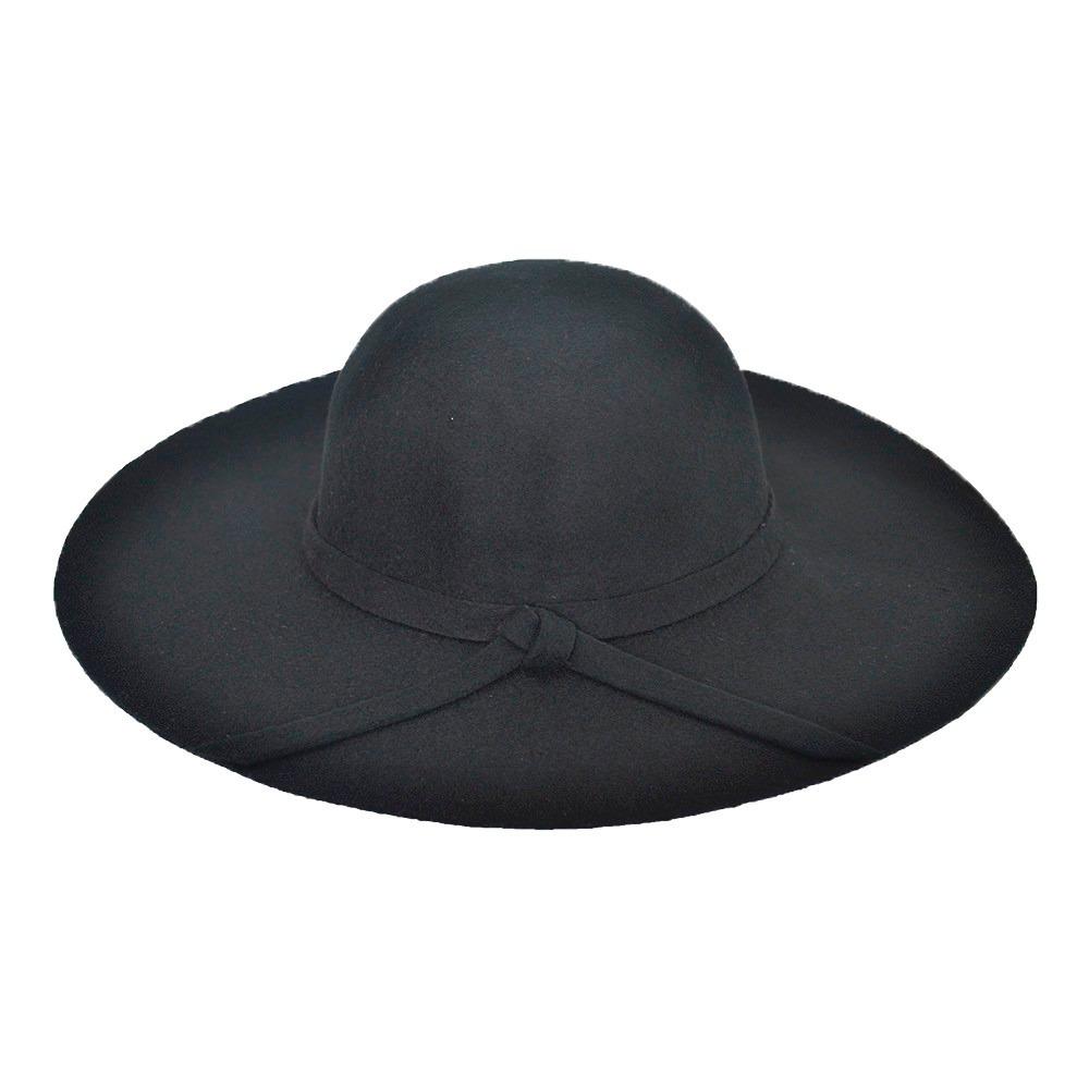 Chapéu Floppy Boho Preto - Excelente Qualidade - R  59 b999c9ac57d