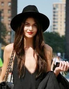 chapéu floppy feminino
