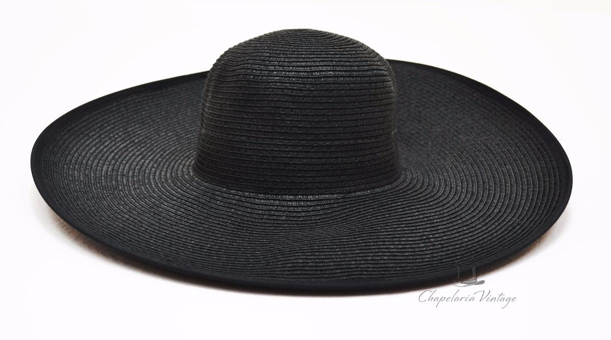 b79e109bdfa99 chapéu floppy praia preto - excelente qualidade. Carregando zoom.