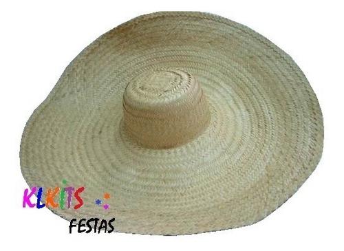 chapéu gigante chapelão de mexicano de palha festa fantasia