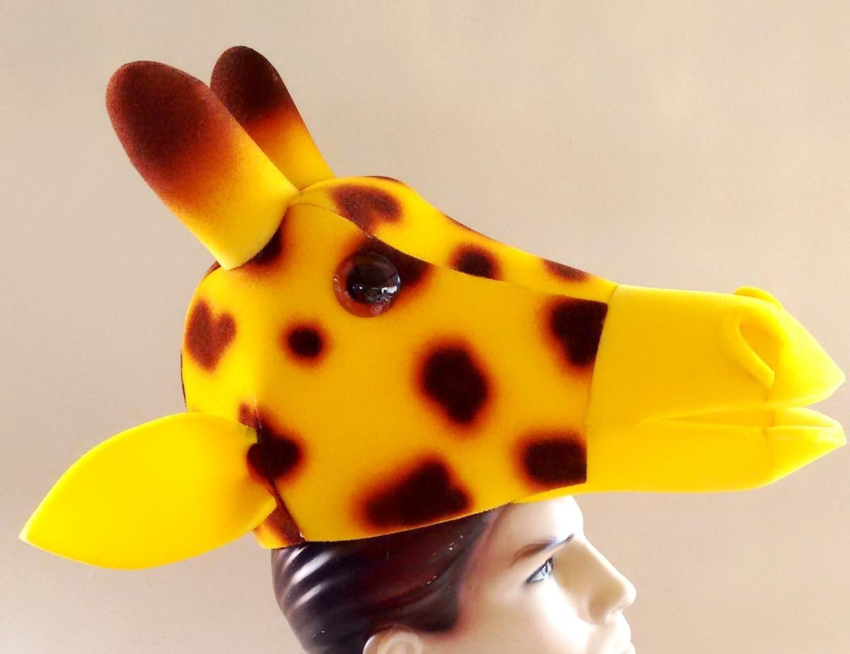 Chapéu Girafa Em Espuma c93630cbf0f