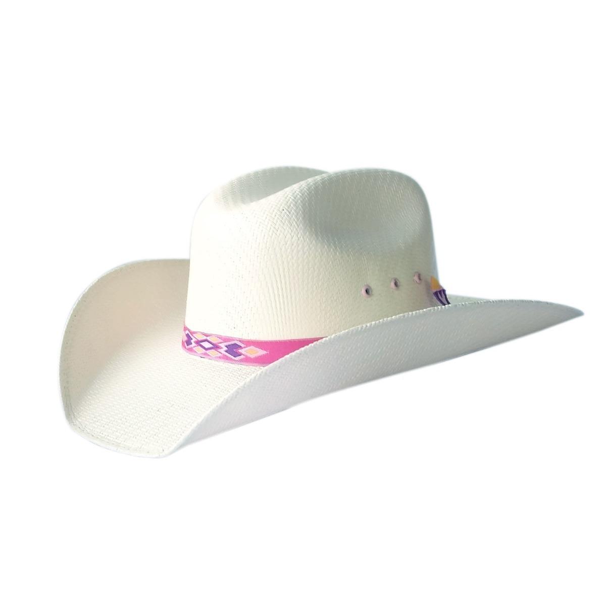 chapéu infantil country lone star girls 30x palha aba 9. Carregando zoom. 50ec8c32195