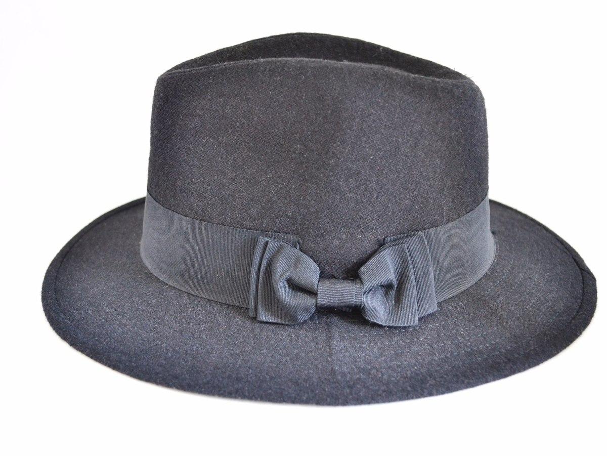 6f2815f19a737 Chapéu Johnny Depp - Fedora Aba Longa - Excelente Qualidade! - R ...